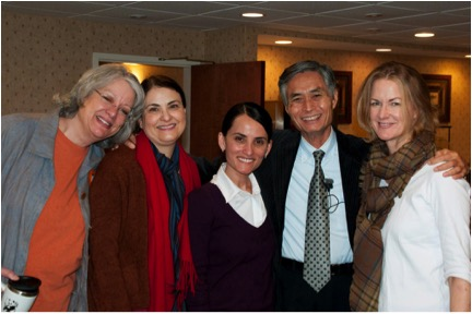 Dr. Tran Viet Dzung Acupuncture Expert and Danielle in March, 2013.